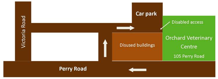 Sherwood car park diagram